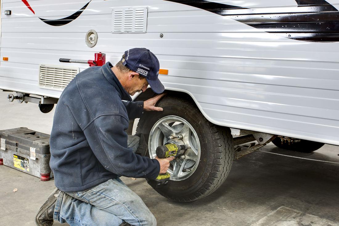 caravan servicing